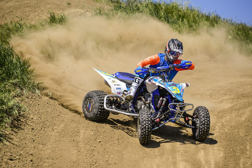 Duncan Racing ATV race support