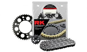 Rk Driven Red Black Chain Kit