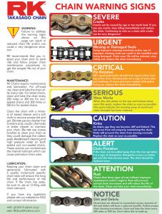 Chain Warning